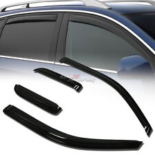 FOR 04-14 F150 EXT TRUCK SMOKE TINT WINDOW VISOR SHADE/VENT WIND/RAIN DEFLECTOR