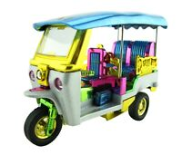 Tuk Tuk Thailand Wind Up 3 Wheel Rickshaw Taxi Vehicle Car Model Thai Souvenir