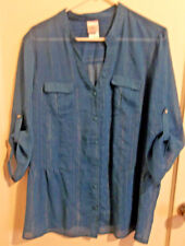 PLUS SIZE WOMEN'S SHIRT BY JUST MY SIZE 2X