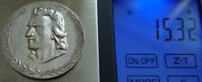 Friedrich Schiller Ehrung 1955 DDR Auszeichnung 900 Silber