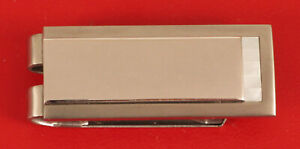 COLIBRI SIGNED QUALITY STAINLESS STEEL HEAVY MONEY CLIP MENS FLASHY CLASSY NICE