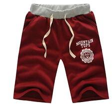 BM Summer Men Sport Shorts Pants Gym Trousers Jogging Trousers Cotton Shorts