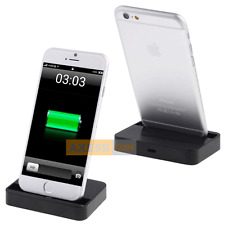Stazione Accesso BASE DOCK Nero, compatibile APPLE iPhone 6 Plus