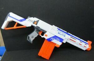 Nerf N-Strike Elite Retaliator White Dart Blaster Gun with 12 Round Magazine