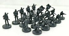Risk Battlefield Rogue edition board game replacement pieces - Units Gray Troops