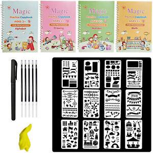 23Pcs Magic Practice Copybook Set Reusable Number Calligraphy Book for kids