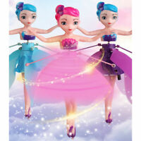 Flying Fairy Pixie Doll Infrared Induction Control Princess Drone Halloween Toy