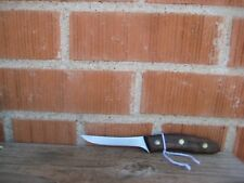 "Vintage 3 1/2"" Blade ** CHICAGO CUTLERY AC 103 ** Paring Knife Curved Handle USA"