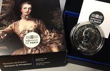 France 2017 Marquise Pompadour 10 euro Silver Historical Femmes de France €