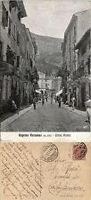 Caprino Veronese, Verona, corso Roma, animata, viaggiata 1918