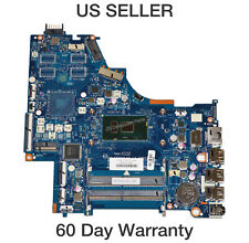 Hp 15-Bs Laptop Motherboard w/ Intel i5-7200U 2.5Ghz Cpu 924751-601