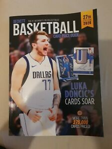 NBA Basketball Card Beckett Price Guide 27th Edition 2020