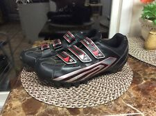 Pearl Izumi Mountain Bike Cycling Shoes Men's Size 13 Euro 48 Black Gray Red