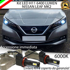 KIT FULL LED NISSAN LEAF MK2 LAMPADE ANABBAGLIANTI LED H11 6000K 100% NO ERROR