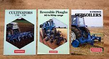 Ransomes brochure Bundle motoculteurs, réversible charrues & subsoilers (3)
