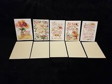 Set of 5 Mary Engelbreit Greeting Cards w/Envelopes All different Unused
