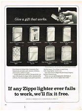 Vintage 1962 Magazine Ad Zippo Lighter Give The Gift That Lasts A Lifetime Zippo