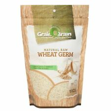 Grain Brain Wheat Germ 12 oz (12 oz) Raw, All natural, Untoasted. Packaged in...