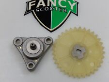 Wings 47 Teeth Oil Pump GY6 Moped Scooter 139QMB Engine Baja Jonway Lance BMX