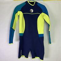 Hisea SEAC Longsleeve Shorts Wetsuit Juniors Size XL