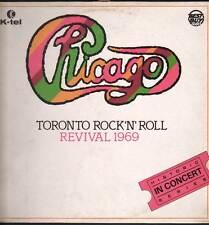 Chicago Lp 33giri Toronto Rock´n´Roll Revival 1969 Nuovo  SKI6001