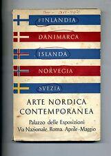 ARTE NORDICA CONTEMPORANEA#De Luca Palazzo delle Esposizioni Aprile Maggio 1955