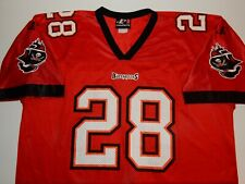 Men's Warrick Dunn Tampa Bay Buccaneers Jersey Size XL Extra Large