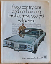 1968 magazine ad for Oldsmobile - Delmont 88 photo, A Test of Your Willpower