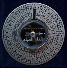 Mekka Kompass mit Etui und englischer Anleitung
