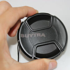 67mm Center Pinch Snap on Front Cap For Sony Canon Nikon Lens Filters RW