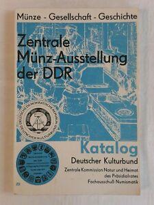 Dresden Zentrale Münz-Ausstellung Münze-Gesellschaft-Geschichte DDR Katalog 1971