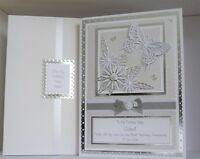 Pearl 30th Wedding Anniversary Card Wife/Mum Dad/etc +  Box A4 Size Personalised