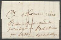 1818 Lettre Marque Linéaire 59 LESAP ORNE(59) TB. F183