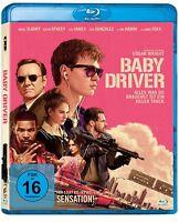 Baby Driver [Blu-ray/NEU/OVP] Ansel Elgort, Kevin Spacey, Lily James, Jon Bernt