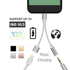 Cuffie Cavo Adattatore Aux Lightning su 3,5mm Audio Buchs per Iphone 7 8 Plus X