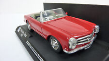New Ray 1:43 Mercedes Benz 280SL Cabrio rot in OVP (A300)