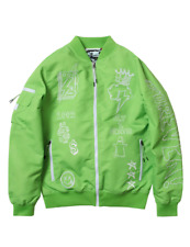 Born Fly Green Fly Reversible Jacket