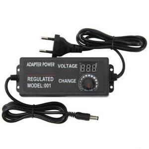 Netzteiladapter Steckernetzteil Einstellbar 5A AC/DC Schaltnetzteil Trafo 60W