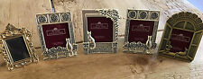 Lot of 5 mini picture frames featuring kitty cats FREE SHIPPING