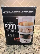 OVENTE 3-Tier Food Steamer 7.5 Quart Capacity - NIB