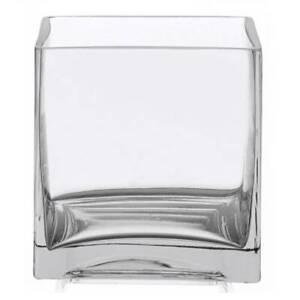 36 x 30cl Cube Candle Glasses