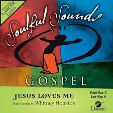 Whitney Houston - Jesus Loves Me - Accompaniment/Performance Track – New CD