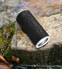 Rockville ROCK LAUNCHER BK Portable Waterproof Bluetooth Speaker for Audiophiles