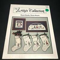 Warm Hands Warm Hearts Cross Stitch Pattern Christmas Stocking Designs