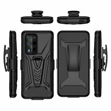For Samsung A01 A21S A31 A41 Shockproof Heavy Armor Holster Belt Clip Case Cover