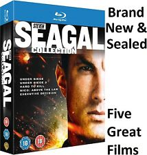 Steven Seagal 5 Film Blu-ray Box Set Collection Under Siege 2 Hard to Kill 18