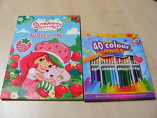 infantil Strawberry Shortcake Para Colorear libro de actividades + 40 Small