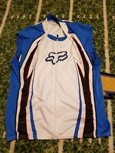 Fox sleeveless road cycling jersey