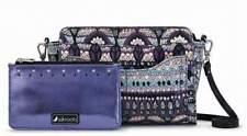NWT Sakroot Tracy Charging Crossbody Shoulder Bag Violet One World SHIP INTL
