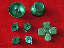 PS4 Controller Modding Set: Thumbsticks Button Steuerkreuz Analog Aluminium GRÜN